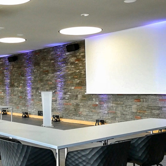 venue for rent for video conferences with Wi-Fi